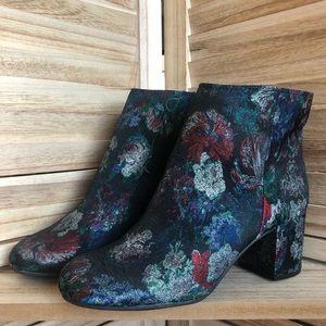 Zigi Soho • Bohemian Brocade Ankle Boots